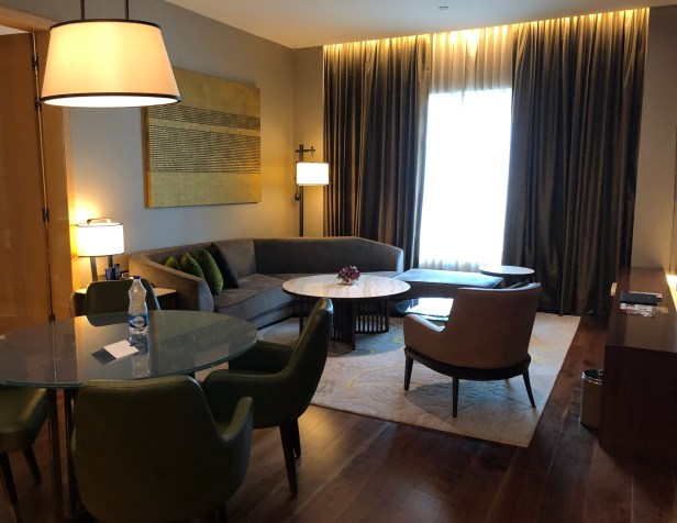 conrad pune review hilton honors 1 bedroom deluxe suite apartment maharashtra india
