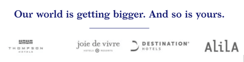 world of hyatt promotions alila thompson joie de vivre destinations hotels 2000 points free night december 31 2019