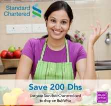 bulkwhiz grocery groceries shopping promo code standard chartered bank credit card sc100 aed 100 off aed 500 october 2019 dubai united arab emirates uae thepointshabibi