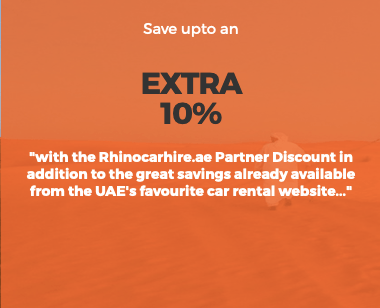 rhinocarhire rhino car hire dubai abu dhabi sharjah ajman uae united arab emirates discount offer coupon off thepointshabibi
