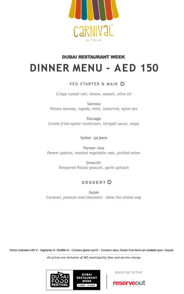 carnival by tresind dinner set menu review drw dubai food festival off march united arab emirates uae thepointshabibi