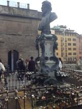Looks like Florence has its own Love Bridge.