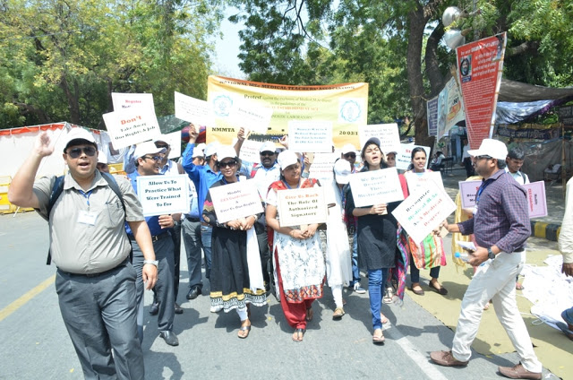 National M.Sc Medical Teachers' Association (NMMTA) has urged both Medical Council of India (MCI) and NABL to withdraw the notification