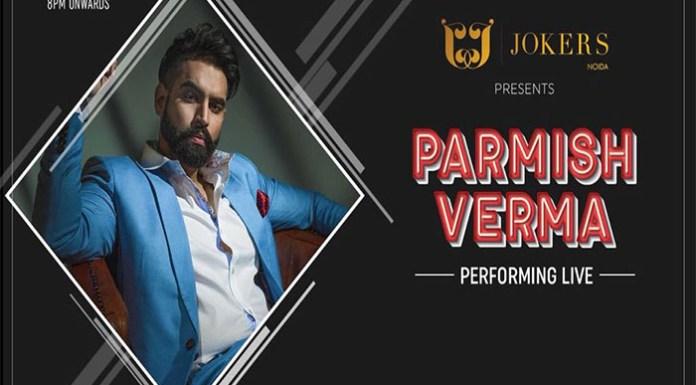 Parmish Verma Performing Live in Jokers Noida