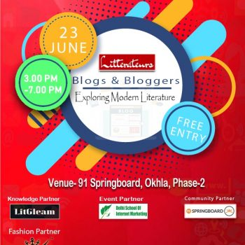 Blog & Bloggers- Event by The Policy Times