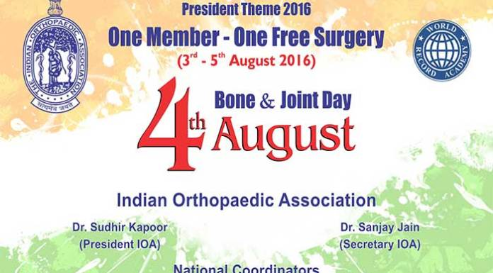 Celebrating Bones and Joint Day