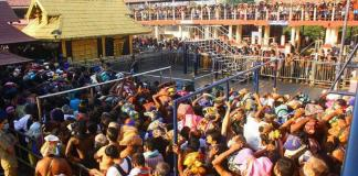 BJP president video viral says, sabarimala protest is party agenda