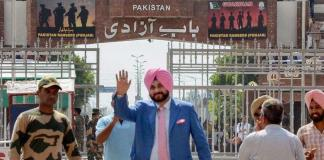 "The foundation stone of the Kartarpur corridor in Pakistan, Sidhu said, ""Imran Khan waited for 70 years"