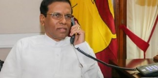 UN chief urges President Sirisena to allow vote in Parliament at the earliest