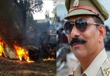 Bulandshahr violence: the offender attacking inspector subodh kumar sing with axe have been arrested