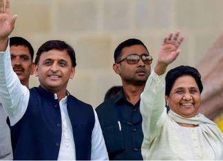 Minus Congress, SP and BSP announce tie-up for Lok Sabha polls