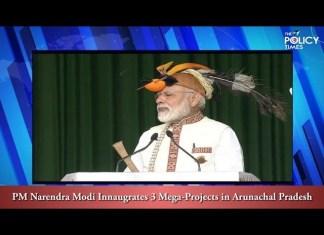 PM Modi in North-East   Inaugurates 3 Mega Projects