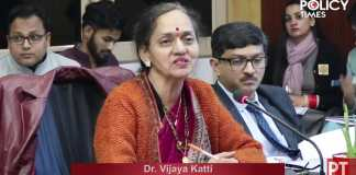 Inaugural Address Workshop on EXIM Policy | Dr. Vijaya Katti