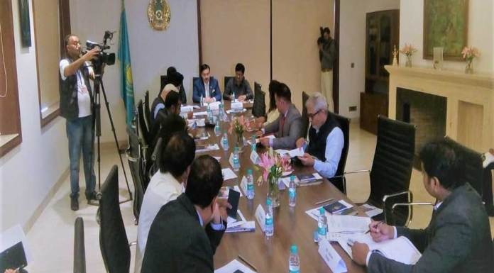 """Ambassador launched regional representative office of """"Kazakh Invest"""" to Boost Indian Investments in Kazakhstan"""