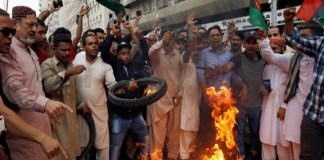 Pakistan erupts into protests against former president Asif Ali Zardari's arrest