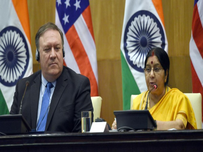 India and U.S. to conclude defense pacts