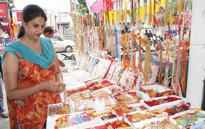 Vocal for Local: Demand for Chinese rakhis fall this year ahead of Raksha Bandhan festival. The policy times