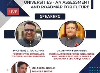 Globalising Indian Universities: Vision, Mission and Setting a Bench Mark Internationally are Key Features,says Founding Vice Chancellor of OP Jindal Global University. The policy times