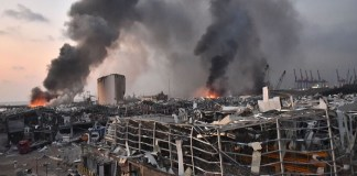 Massive explosion shook Lebanon's capital Beirut killing dozens, injuring thousands. The policy times