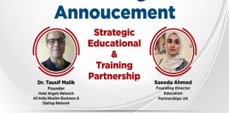 Globally recognized Education Partnerships UK Teams up with World's First Halal Angel Network to offer training & certification to aspiring entrepreneurs .the policy times