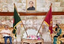 Maldives Outgoing H C to Bangladesh paid farewell call on Bangladesh President .the policy times