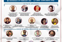 India and Nepal Meet Virtually for Building Synergy in Education THE POLICY TIMES