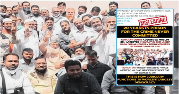 Justice Entr'acte; A 20 years old Tell-Tale of 127 accused Indian Muslims the policy times
