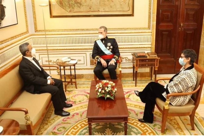 New Bangladesh envoy to Spain presented his credentials to the King of Spain the policy times
