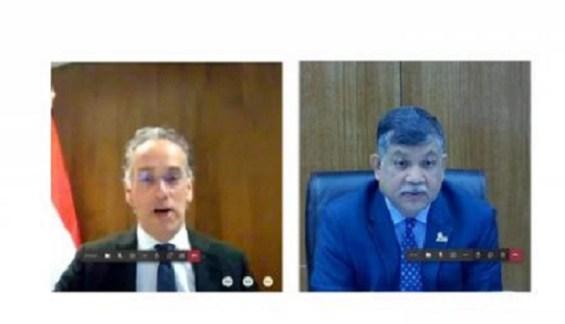 Een gesprek tussen Bangladesh en Nederland over samenwerking op de reis na herstel van COVID-19 in politieke tijden
