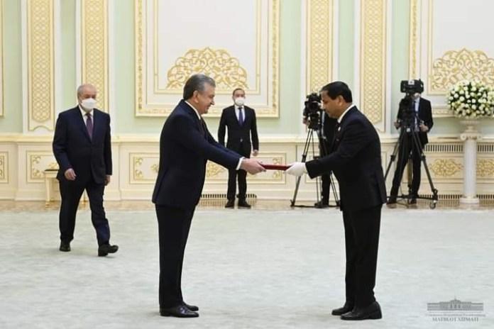 New Bangladesh Envoy to Uzbekistan present his credentials to Uzbek president the policy times