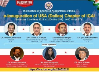 ICAI Launched Its 41st Chapter in Dallas, USA THE POLICY TIMES