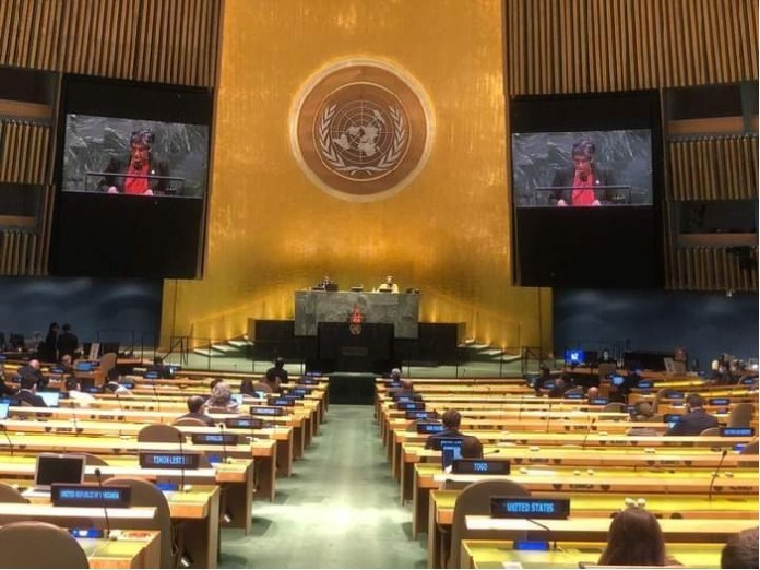 Bangladesh calls for international community's strong resolve to end the Palestinian crisis permanently