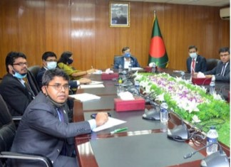 Bangladesh Foreign Ministry held discussion with the ASEAN Ambassadors through Boithok App