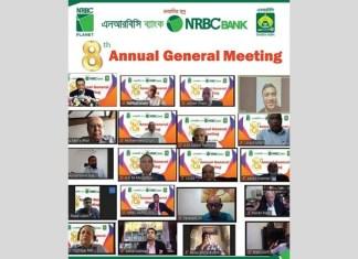 8th Annual General Meeting (AGM) of NRBC Bank Limited held Through Digital Platform