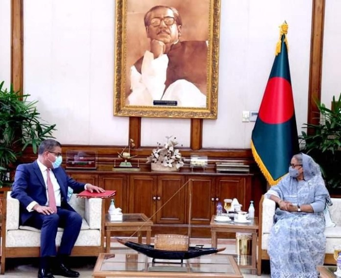 Dhaka hopes London will uphold the interests of climate-risk-prone countries: Bangladesh PM Sheikh Hasina