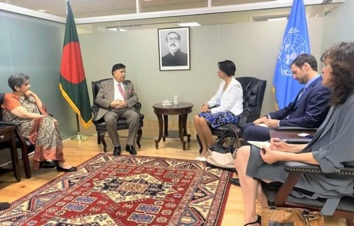 """""""We need a clear roadmap from the UN for repatriation of Rohingya to Myanmar"""" Bangladesh Foreign Minister"""
