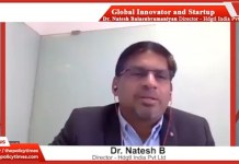 """""""Global Innovation and Entrepreneur Show"""" with Dr. Nateshand Ananth S Presenting A Vision of Holistic Digital HealthCare"""