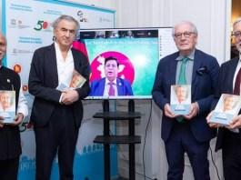 Father of the Nation Bangabandhu Sheikh Mujibur Rahman's French version of 'Prison Diary' unveiled at the initiative of Bangladesh Embassy Paris
