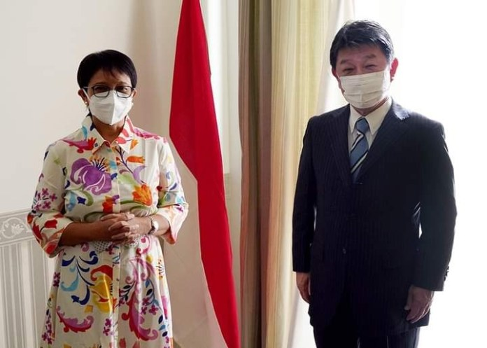 Japan-Indonesia Foreign Minister's Meeting