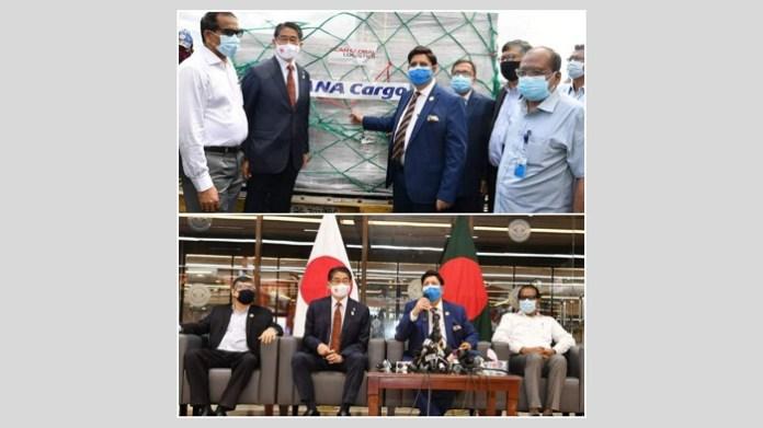 Bangladesh Foreign Minister thanks Japan for providing AstraZeneca vaccines
