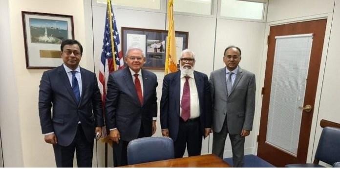 Adviser to the Prime Minister of Bangladesh Salman F. Rahman meets with US Senator