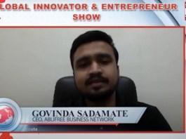 Mr. Govinda Sadamate CEO, Ablifree Business Network on Digitally Empowering MSMEs