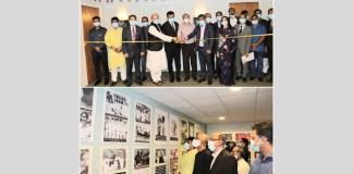 Bangabandhu's birth centenary and Mujib's year, the Bangladesh Embassy Stockholm organized his life and & work