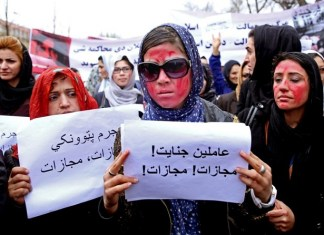 Women resorts to social media to request assistance as the country falls under the Taliban rule