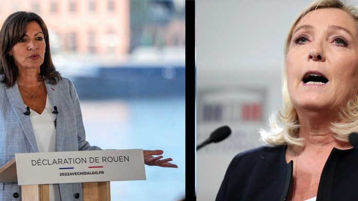 Two women campaigners to become France 1st female president