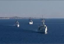 India-Australia begins naval exercise