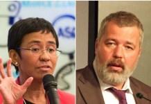 Philippine's journalist Ressa and Russian journalist Muratov win 2021 Nobel Peace Prize