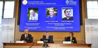 3 US-based economists win Nobel prize for societal research