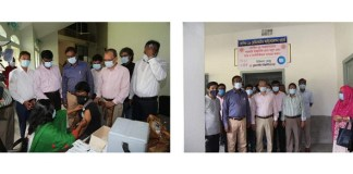 Students of Rajshahi University started vaccinating Covid-19