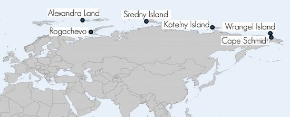 Russia has constructed 6 military bases along the Northern Sea Route.